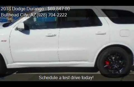 2018 Dodge Durango SRT AWD 4dr SUV for sale in Bullhead City Washington DC 2018