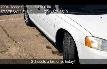 2004 Dodge Stratus Se 2.4l in San Jose 95132 CA