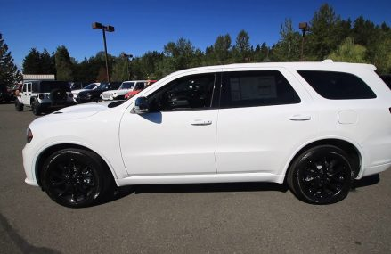 2018 Dodge Durango R/T | White | JC452266 | Redmond | Seattle Atlanta Georgia 2018
