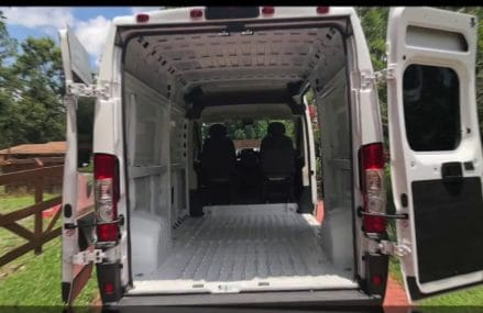 DIY Ultimate Never Done Before Stealth Dodge RAM ProMaster 2500 Van Conversion From 12787 White Sulphur Springs NY