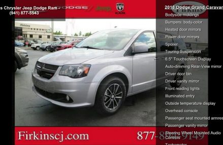 2018 Dodge Grand Caravan SE For Melbourne 32912 FL