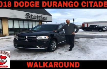2018 Dodge DURANGO CITADEL 18T107A Torrance California 2018
