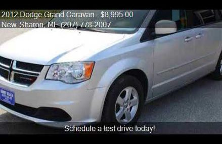2012 Dodge Grand Caravan SXT 4dr Mini Van for sale in New Sh at Middleburg 20117 VA