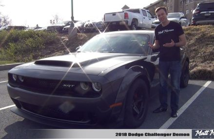 Review: 2018 Dodge Challenger Demon – Crazy Gets Crazier! Milwaukee Wisconsin 2018