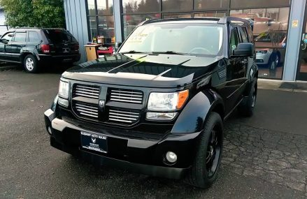 2007 DODGE NITRO R/T 4X4 MOONROOF NAVIGATION 1 OWNER Locally at 17889 Winfield PA