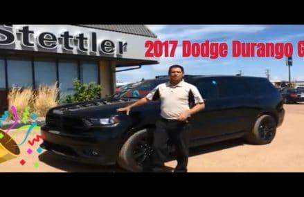 RT841 2017 Dodge Durango GT Stettler Dodge Newark New Jersey 2018