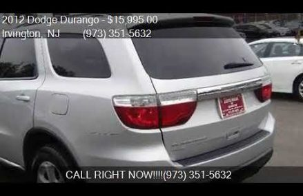 2012 Dodge Durango SXT AWD 4dr SUV for sale in Irvington, NJ Sterling Heights Michigan 2018