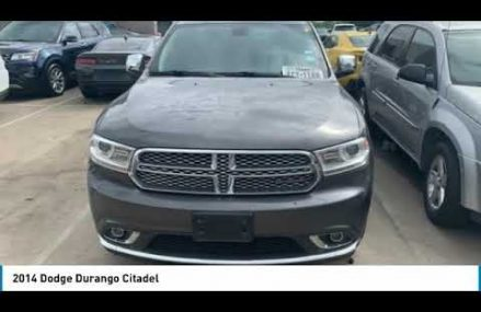 2014 Dodge Durango Ft. Worth Tx, Arlington TX, Grapevine TX A577617A Grand Rapids Michigan 2018