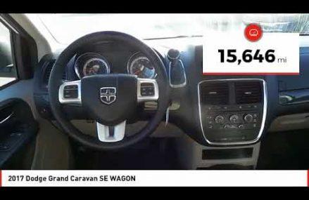2017 Dodge Grand Caravan Midland TX HR547403A Near Mineral City 44656 OH