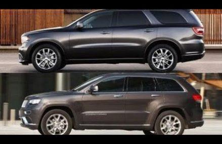 Top Cars:  Dodge Durango 2016 vs Jeep Grand Cherokee 2016 || Design Exterior & Drive Irving Texas 2018