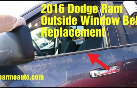 2016 Dodge Ram Window Belt Replacement Near 97056 Scappoose OR
