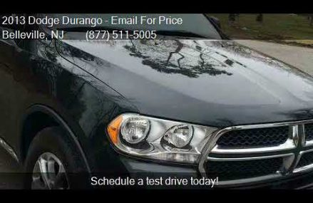 2013 Dodge Durango Crew AWD 4dr SUV for sale in Belleville, Fort Collins Colorado 2018