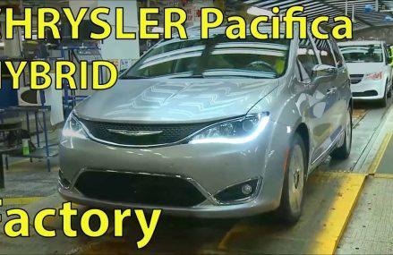 CHRYSLER Pacifica HYBRID, Car Factory,  Assembly Plant, ( Windsor, Canada ) Near Minneapolis 55450 MN