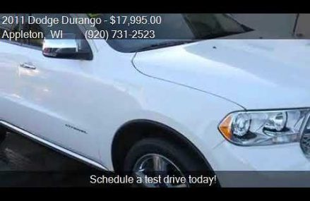 2011 Dodge Durango Citadel AWD 4dr SUV for sale in Appleton, Boise Idaho 2018