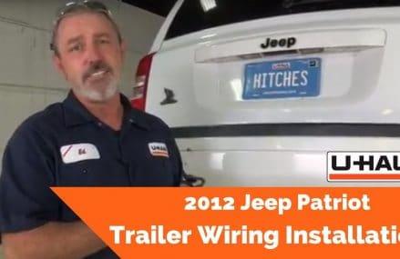 Dodge Caliber Trailer Hitch at Lingleville 76461 TX USA