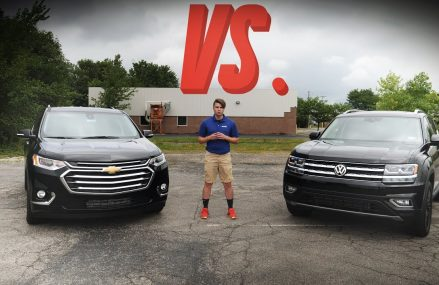 2018 Chevrolet Traverse vs. 2018 Volkswagen Atlas – Crossover Comparison Memphis Tennessee 2018
