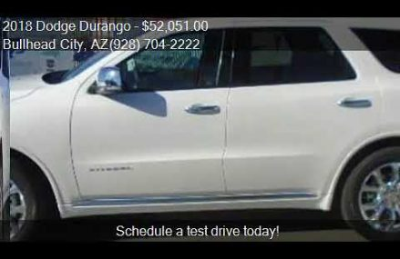 2018 Dodge Durango Citadel 4dr SUV for sale in Bullhead City Indianapolis Indiana 2018