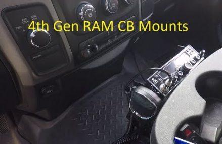 Fourth Generation RAM Truck CB Mounting Options Near 48093 Warren MI