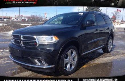 2014 Dodge Durango Limited AWD | MacIver Dodge Jeep | Newmarket Ontario Louisville – Jefferson Kentucky 2018