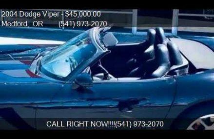 Dodge Viper Roadster Near USA International Speedway, Lakeland, Florida 2018
