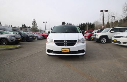 2018 Dodge Grand Caravan SE | White | JR181568 | Redmond | Seattle | From Meriden 6454 CT