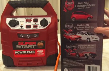 Super Start Jump Starter for Dead Car Battery – with Various Device Charging Adapters Within Zip 99001 Airway Heights WA