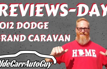REVIEWSDAY 2012 DODGE GRAND CARAVAN REVIEW Local Max 58759 ND