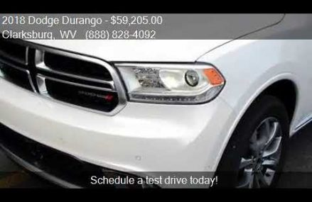 2018 Dodge Durango Citadel Anodized Platinum AWD 4dr SUV for Vancouver Washington 2018
