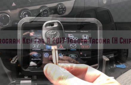 AutoProPad Lite – Program Key For A 2017 Toyota Tacoma From Mackinac Island 49757 MI