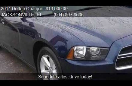 2014 Dodge Charger SE 4dr Sedan for sale in JACKSONVILLE, FL From 82710 Aladdin WY