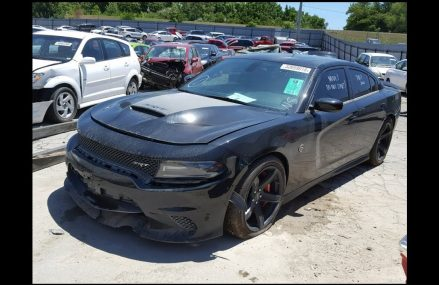 Wrecked 2017 Hellcat Charger rebuild part1 in 15009 Beaver PA