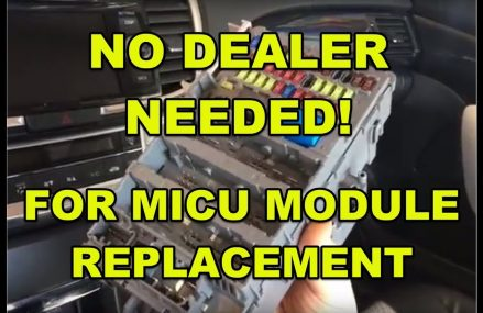 2015 Honda or Acura MICU module (fuse box) replacement without programming by the dealer. How to? at New York City 10041 NY