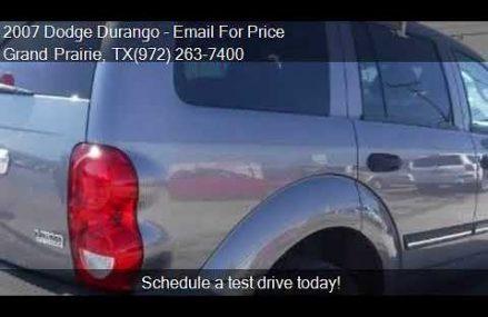2007 Dodge Durango SLT 4dr SUV for sale in Grand Prairie, TX Tempe Arizona 2018
