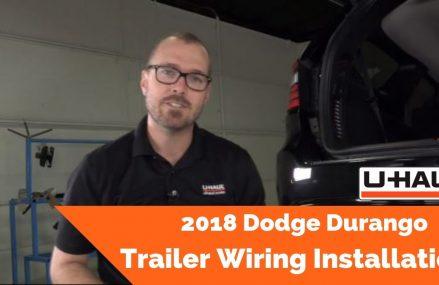 2018 Dodge Durango Trailer Wiring Installation San Jose California 2018