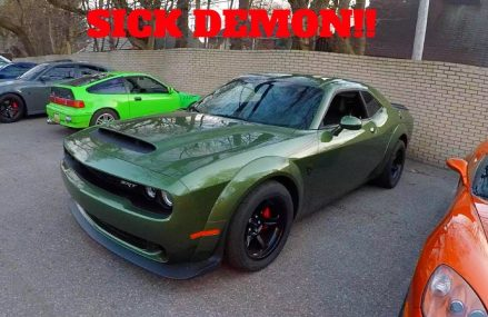 RARE DODGE DEMON COLOR! F8 GREEN Around Zip 91702 Azusa CA
