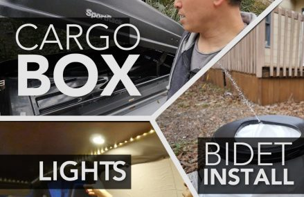 55. Touring Camper Van Build- Bidet Install, Cargo Box, Lights From Mullica Hill 8062 NJ