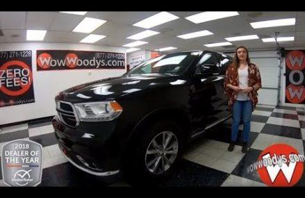 2015 Dodge Durango Review | Video Walkaround | Used Cars and Trucks at WowWoodys Newark New Jersey 2018