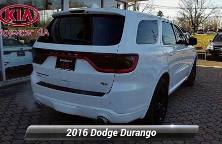Used 2016 Dodge Durango R/T, Bridgewater, NJ 360075DC Columbia South Carolina 2018