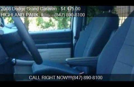 2008 Dodge Grand Caravan C/V 4dr Extended Cargo Mini Van w/ in Madison 53707 WI