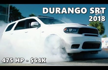 2018 Dodge Durango SRT (475-hp, $64K) Fontana California 2018