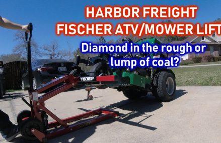 HARBOR FREIGHT Fischer ATV/Mower Lift Near Lumberport 26386 WV