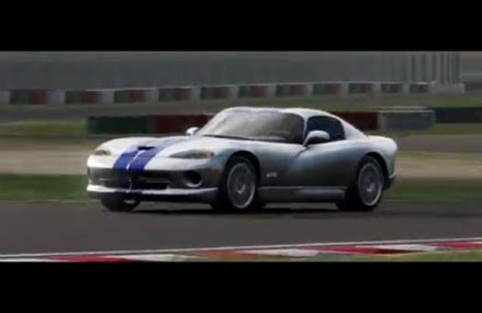 Dodge Viper Drawing in Indianapolis Speedrome, Indianapolis, Indiana 2018