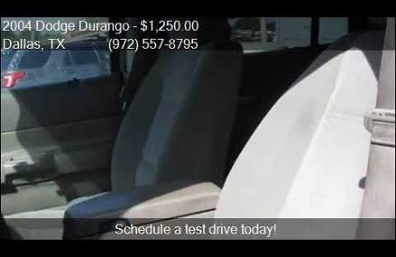 2004 Dodge Durango SLT 4dr SUV for sale in Dallas, TX 75253 Lancaster California 2018