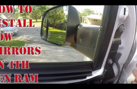 How to Install tow Mirrors on 4th gen Ram 2500 From 19088 Wayne PA