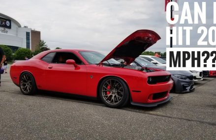 Top Speed 190 MPH Run in a Hellcat Going Full Send at 99512 Anchorage AK