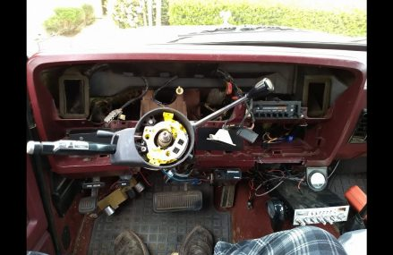 1989 Dodge Ramcharger Steering Column Swap From 7069 Watchung NJ