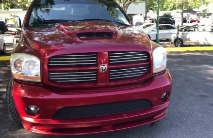 Dodge Viper Pickup in Perris Auto Speedway, Perris, California 2018