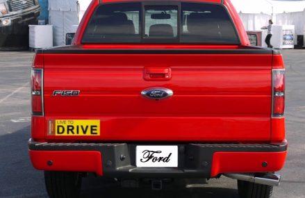 Sticker For Dodge Ram 2500 Ford F150 Toyota Tacoma GMC Sierra 1500 Found at 93111 Santa Barbara CA