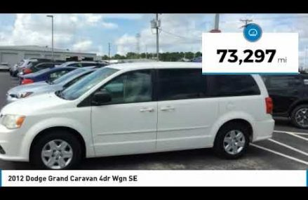 2012 Dodge Grand Caravan Charleston SC, Ladson SC, hanahan SC, summerville SC P2255 For Montrose 81401 CO