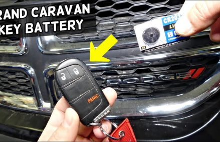 HOW TO REPLACE KEY FOB BATTERY ON DODGE GRAND CARAVAN Local Midland 79707 TX
